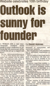 Outlook is sunny for founder