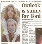 Outlook is sunny for Toni