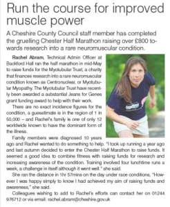 Run the course for improved muscle power