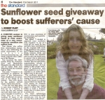Sunflower seed giveaway