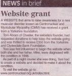 Website grant