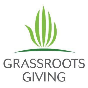 Grassroots Giving logo.