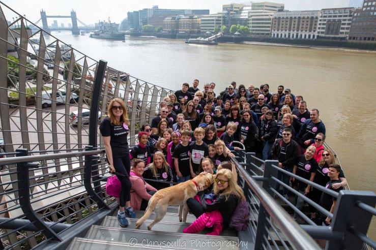 Myotubular Trust London Hope Walk 2019.